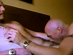 Horny gay friends truck garden hot kisses, exchange blowjobs and taste each other's asses