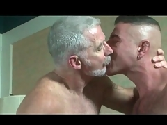 Blissful pop and one hot guys try anal sex