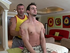 Diverting jock engulfing and wild tugjob be advantageous to hawt gay hunk