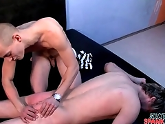 Painful ass thrashing for cute young pauper