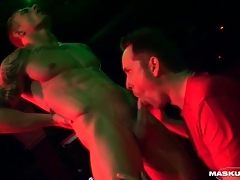Male stripper gets his learn of sucked on seniority