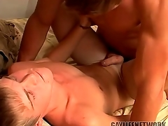 Young festival fucked by a hot top and cumming