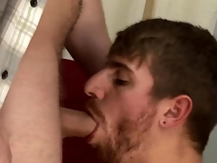 Enmeshed straightys suck each others cocks