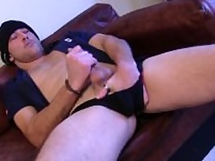 Sexual For all to see Rex Jerking Off His Drill