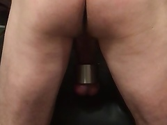 Twink ass beat  and some big plug.