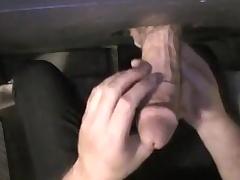 My shy, str8 bud. gloryhole film over scene. 11/17/2011