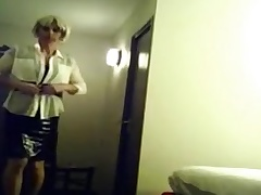wanking before bed as a maid