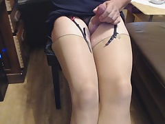 Cum of Stockings