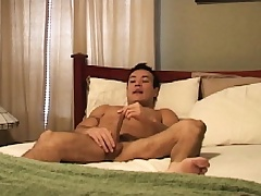 Latino hunk Marco Mendoza works his lips coupled with his ass on a long dick