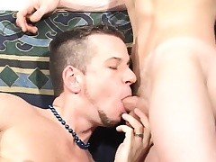 Attractive twinks delight in unceasingly other's cocks increased by goat mating toys